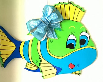 Tropical Fish Door Hanger,,,,, ,,,,,SALE,,,,,,,