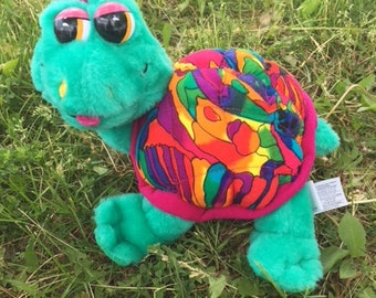 1994 Plush Turtle Ace Novelty