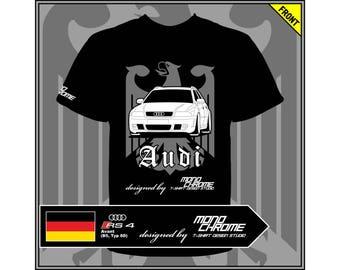 T-shirt Audi RS 4 Avant (B5, Typ 8D)