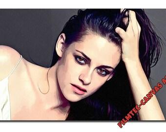 Kristen Stewart-Bella Twilight Inspired Canvas Art Picture(size A1 ), NEW