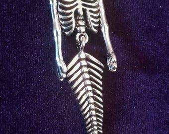 Mermaid Necklace  - mermaid gothic pastelgoth  sea poseidon pisces scales abalone
