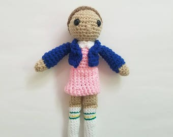 Eleven from Stranger Things, custom made, free shipping