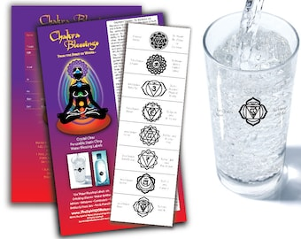 Chakra Blessing Labels