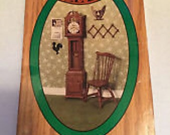 Miniature Chrysnbon Furniture Kit - Grandfather Clock