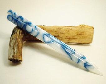 Acrylic Hair Sticks - Cloud 3 - 6 1/2 inches (16.51 cm) No 625