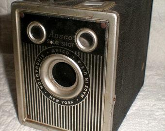 Ansco Shur Shot Box Camera