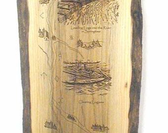 Maine River Logging Storyboard