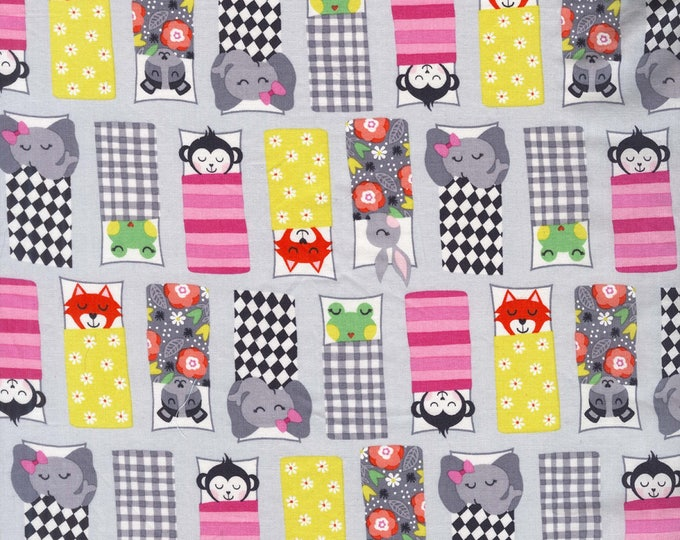 Road Trip by Michael Miller - Happy Campers Cloud - Cotton Woven Fabric
