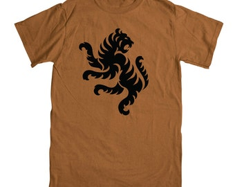 TIGER  Logo Rust 3XL T-Shirt
