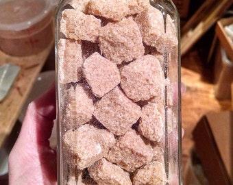 Natural Sweeteners in a Variety of Sizes Maple Sugar, Honey Granules, Coconut Palm Sugar, Molasses Granules