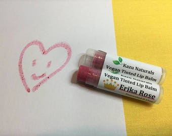 Vegan Tinted Lip Balm  Erika Rose