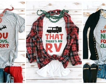 Christmas Vacation Tees for the Family