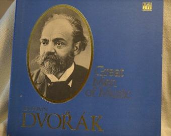 Antonin Dvorak - Time Life Great Men of Music Boxed Vinyl Set of Classical Music