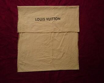 Louis Vuitton dust bag rare