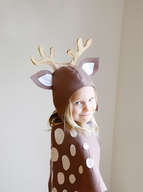 Reindeer PATTERN DIY Costume Mask Sewing Creative Play