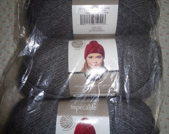 Loops & Threads Impeccable Yarn - CHARCOAL