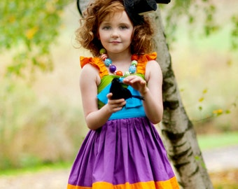 Mad Hatter - Character Inspired Dress - Alice in Wonderland - Sizes 12/18months through 9/10