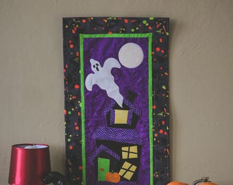 Halloween Quilted Wall Hanging