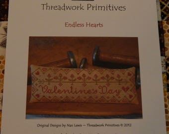 Endless Hearts by Threadwork Primitives