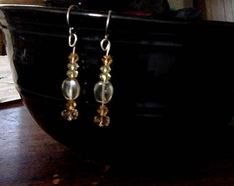 Citrine and Crystal Honey Drops