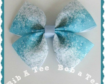 Blue Ombre hair clip