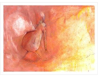 Art Print 30x40 | Life is a hall ... | Martina Lengers