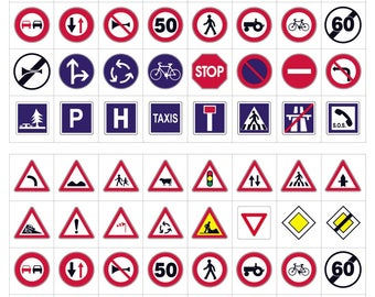 The highway code stickers 320 pcs - MAILDOR - Ref 560477 - until the stock!