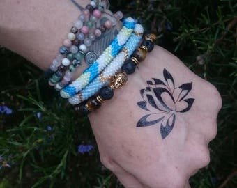 Lotus Temporary Tattoo - Back Tattoo - Wrist Temporary Tattoo - Skin Tattoo - Lotus Flower Tattoo