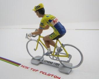 Greg Lemond - ADR Agrigel - 1989 Tour de France - Individually Handcrafted French Peloton Cycling Figure