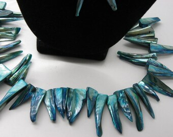 30 40 mm turquoise blue shells is 20 mm