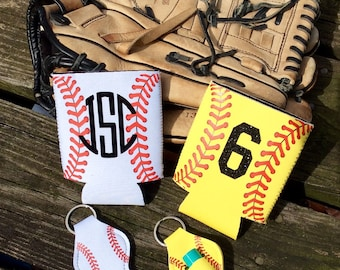 Baseball/Softball Can Holder/Baseball chalstick holder/Softball chapstick holder/Baseball Can Holder/Softball Can Holder/Team Gift