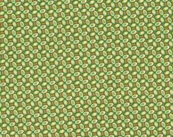 Heather Bailey • FRESHCUT Jelly Bean • green • Cotton Fabric 0.54yd (0,5m) 001605