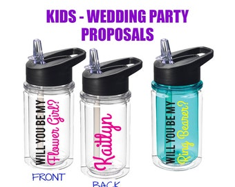 Flower Girl Proposal - Will you be my Flower Girl - Ringer Bearer Proposal - Cant say I do without you - Flower Girl Gift -Ask Jr Bridesmaid