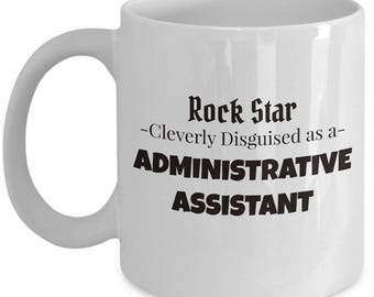 Administrative Assistant Coffee Tea Mug | Gift for Admin Worker | Office Worker