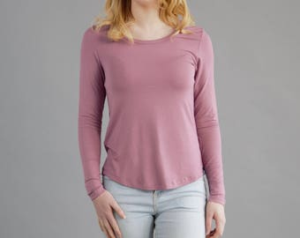 Women's Bamboo Long Sleeve Shirt