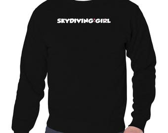 Skydiving Girl Sweatshirt