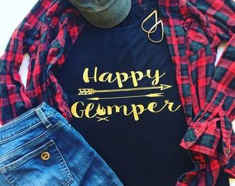Happy Camper tank; Happy Glamper tank; tank top
