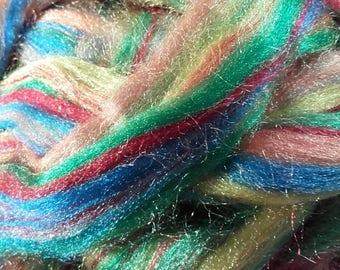 Trilobal Nylon Rainbow Effect.