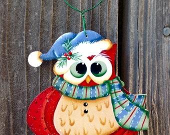 Purdy Owl Ornament