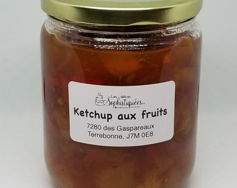 Ketchup aux fruits
