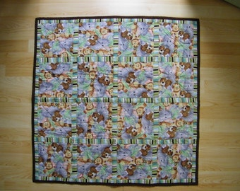 Baby Tummy Time Quilt