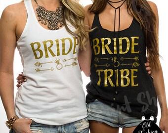 Bride Tribe Shirts.