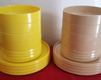Oblique by PMC Vintage plastic dishware