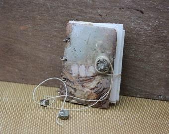 Beautiful Encaustic Mini Journals and Painted Pendants  Mixed Media Online Workshop Tutorial
