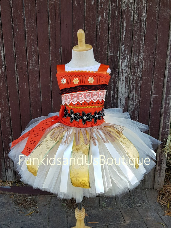 Moana Tutu Dress