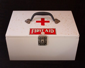 Vintage Post Office First Aid Kit
