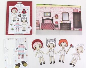 Little Red Riding Hood Pocket Pal - Paper Doll Set