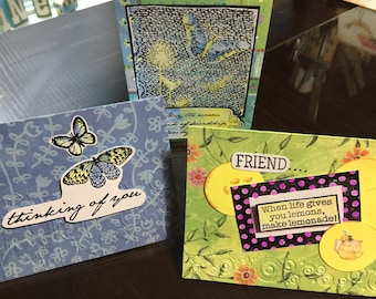 Handmade, homemade all occasion cards