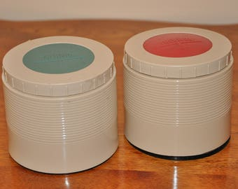 Vintage Thermos Insulated Jars/Mini Thermos   (Set of 2)