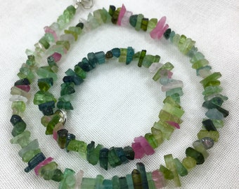 1 Strand Mix Color Stunning Quality Tourmaline @PS60